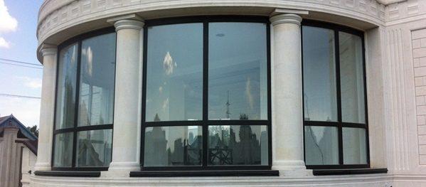 Радиусные окна